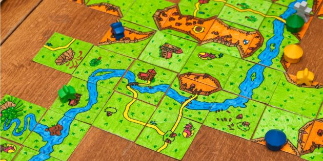 Board games: Carcassonne