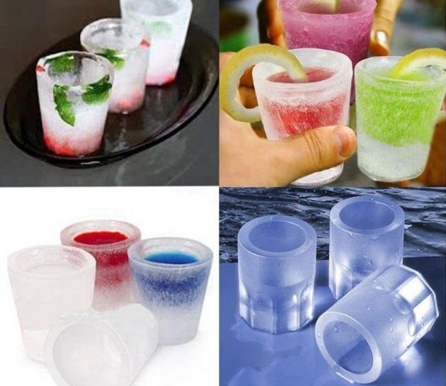 Forms for ice shots