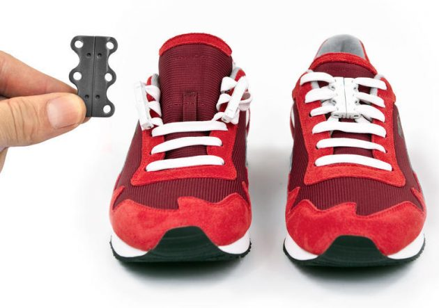 Magnetic fasteners for laces