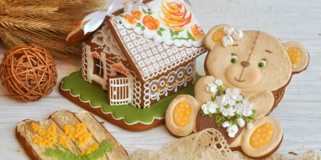 Gingerbread painting