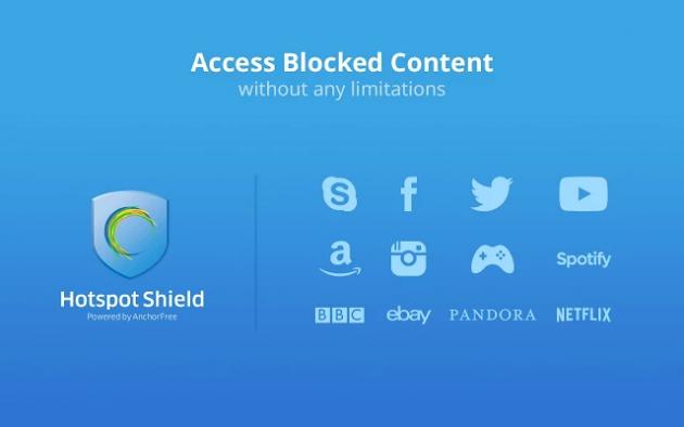免费 vpn hotspot shield 基本 版